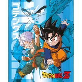 Dragon Ball Z Trunks and Goten - plakat