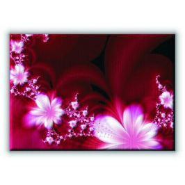 Garland of flowers - Obraz na płótnie