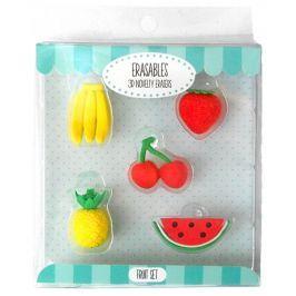 Gumki do mazania – zestaw owoców