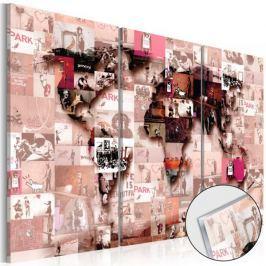 Obraz na szkle akrylowym - Banksy Graffiti Collage [Glass]