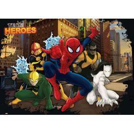 Fototapeta na flizelinie Spider-Man Team Heroes XL