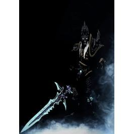 BlizzardVerse Stencils - Arthas, the Lich King, Warcraft - plakat