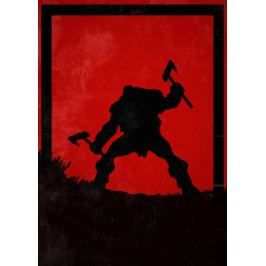 For Honor - Berserker - plakat Fototapety