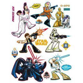 Naklejki Star Wars Gwiezdne Wojny Hero Dziecięce akcesoria dekoracyjne