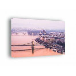 Budapeszt, parlament - obraz na płótnie Fototapety