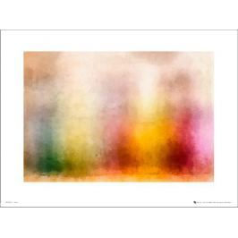 Abstract Colours Landscape - plakat premium Fototapety
