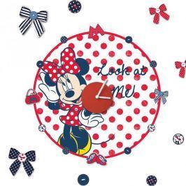 Zegar naklejka Myszka Mini Minnie Mouse Disney Dziecięce akcesoria dekoracyjne