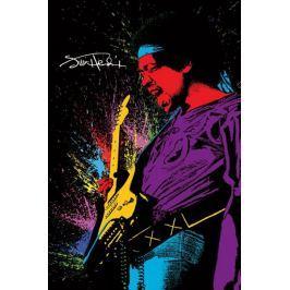 Jimi Hendrix Paint - plakat Fototapety