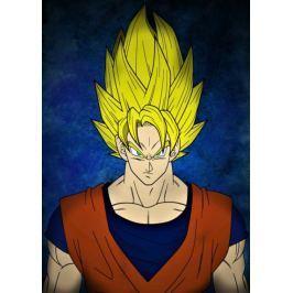 Dragon Ball - Goku - plakat Fototapety