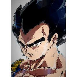 POLYamory - Vegeta, Dragon Ball - plakat Fototapety