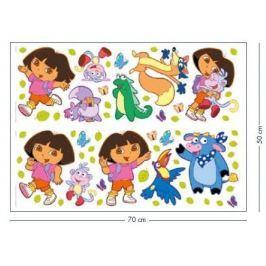 Naklejki DORA Dziecięce akcesoria dekoracyjne