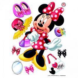 Naklejki Duża Naklejka Myszka Mini Disney Minnie Mouse Dziecięce akcesoria dekoracyjne