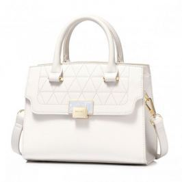 ''NUCELLE'' biała torebka  w kształcie kuferka, do ręki i na ramię Torebki damskie