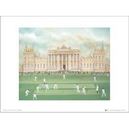 Pip Shuckburgh Cricket At Blenheim - plakat premium Fototapety