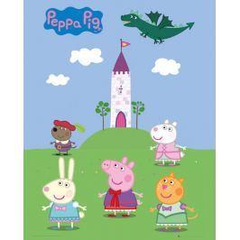 Świnka Peppa Opowieści Wróżki - plakat Fototapety