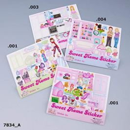 Naklejki do zestawu Sweet Home x4 Pozostałe zabawki edukacyjne