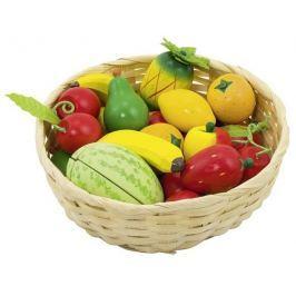 Warzywa w koszyku, 23 elementy Pozostałe zabawki