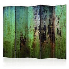 Parawan 5-częściowy - Szmaragdowa zagadka II [Room Dividers] Inne dekoracje i ozdoby