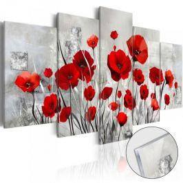 Obraz na szkle akrylowym - Szkarłatny obłok [Glass]