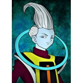 Dragon Ball - Whis - plakat Fototapety