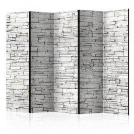 Parawan 5-częściowy - Białe zaklęcie II [Room Dividers] Inne dekoracje i ozdoby