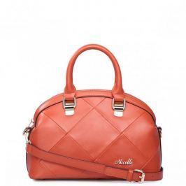 Skórzana torebka tote Pomarańczowa