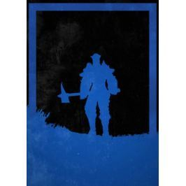 Dusk of Villains - Nithiril, Wiedźmin - plakat Fototapety
