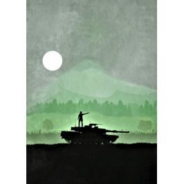The Walking Dead Vintage Poster - plakat Fototapety
