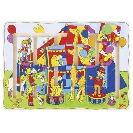 Układanka do przesuwania - labirynt, cyrk Puzzle
