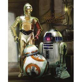 Star Wars Gwiezdne Wojny - Roboty - plakat Fototapety
