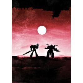 Warhammer 40K Vintage Poster - plakat Fototapety