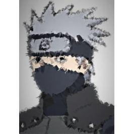 POLYamory - Kakashi, Naruto - plakat Fototapety