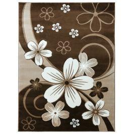 Dywan CRYSTAL 140x190 6015 WHITE BROWN Dywany i wykładziny dywanowe