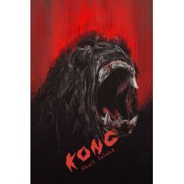 Kong Wyspa Czaszki - plakat premium Fototapety