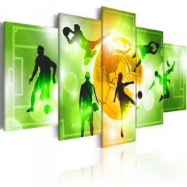 Obraz - Kocham piłkę nożną Fototapety