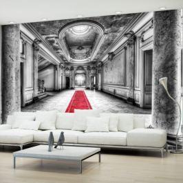 Fototapeta - Tajemnica marmuru - czarno-biała Fototapety