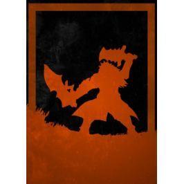 Dusk of Villains - Ganondorf, The Legend of Zelda - plakat Fototapety