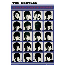 The Beatles Hard Days Night - plakat Fototapety