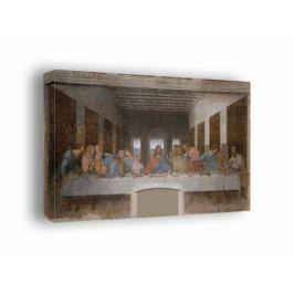 Ostatnia wieczerza -  Leonardo da Vinci - obraz na płótnie Fototapety