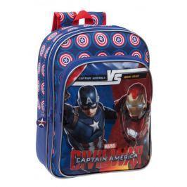 Plecak Kapitan Ameryka - Wojna Bohaterów 42 cm Tornistry plecaki i torby szkolne