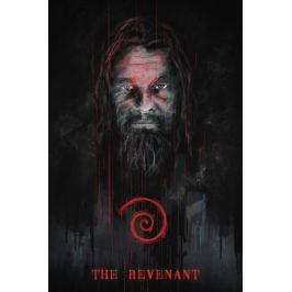 Zjawa Leonardo DiCaprio - plakat premium Fototapety