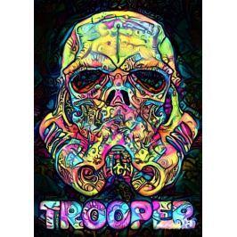 PsychoSkulls, Stormtrooper, Star Wars Gwiezdne Wojny - plakat Fototapety