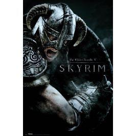 The Elder Scrolls V Skyrim Atak - plakat Fototapety