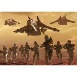 Fototapeta Wojna Klonów gwiezdne wojny 1594VE Star Wars Tapety