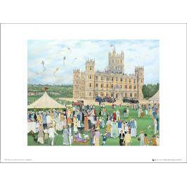 Pip Shuckburgh Highclere Castle - plakat premium Fototapety