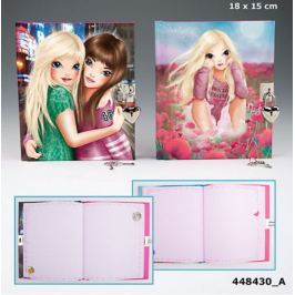 Pamiętnik z kłódką TOP MODEL 8430 Pozostałe zabawki edukacyjne
