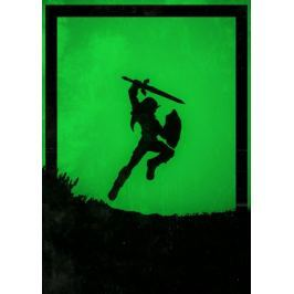 Dawn of Heroes - Link, The Legend of Zelda - plakat Fototapety