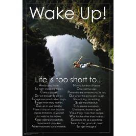 Obudź się ! Życie jest za krótkie - plakat