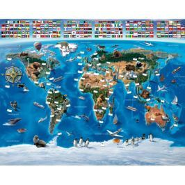 Tapeta 3D Mapa Świata Tapety