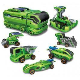 Kreatywny zestaw SOLARNE POJAZDY 7w1 autka #E1 Pozostałe zabawki